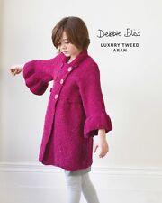 Debbie Bliss DB120 - Bell Sleeve Coat - Luxury Tweed Aran - Single Pattern