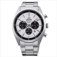 ORIENT Quartz Neo70's Chronograph WV0041TX White Men's Wrist Watch
