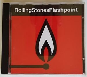 The Rolling Stones CD Flashpoint Recorded Live 1989 - 1990 FREE Postage