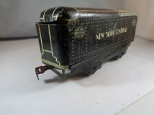 MARX TINPLATE LITHOGRAPH NEW YORK CENTRAL COAL TENDER    5-58-5