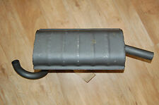 Genuine AUSA 01.13300.02 muffler, silencer