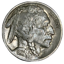 1917 BUFFALO NICKEL ** NICE XF~AU **