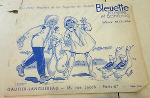 CATALOGUE POUPEES BLEUETTE ROSETTE BAMBINO