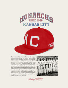 Kansas City Monarchs Red Negro League Baseball Hat NLBM CAP