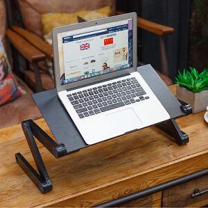 PORTABLE ADJUSTABLE LAPTOP STAND TABLET HOLDER DESK RISER FOR NOTEBOOK MAC BOOK