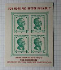 Napex Sc #515 Republic of Philippines 1944 Philatelic Souvenir Ad Label