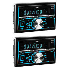 Boss Audio Systems Double DIN Mechless Bluetooth Multimedia Player (2 Pack)