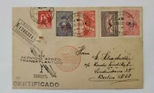Argentina Zeppelin Flight Cover to Berlin (Germany) 1932 - Special cachet