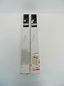 2 x New Habitat Photographic Metal Desk Lamp Legs  G13