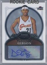 2006-2007 Bowman Sterling Basketball Daniel Gibson Cavaliers Autographed RC