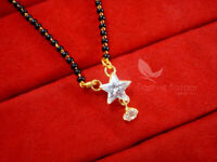 ME111P  Daphne Minimalist Star Zircon Mangalsutra set for Women