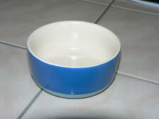 "Threshold Cat Food / Water Stoneware Bowl Dish, 2-Tone Blue, 4"" x 2"", Ln"