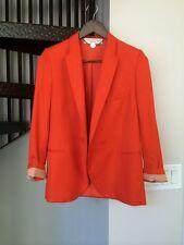 Stella McCartney One Button Suit Jacket / Blazer Orange Size 38