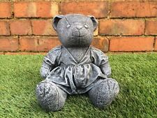 Teddy Bear In A Dress Garden Ornament Latex only Mould/Mold Mould