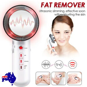 3 In1 Ultrasonic Cavitation Slimming Beauty Machine Fat Remover Body Massager AU