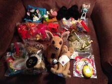 18 FABULOUS FAST FOOD COLLECTIBLE TOYS FROM THE 90'S AND 2000'S!! 18 MINT TOYS!!