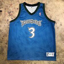 Stephon Marbury VTG STARTER Jersey Authentic Minnesota Timberwolves Size 52