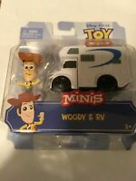 Disney Pixar Toy Story 4 Minis Woody and RV Toy Car