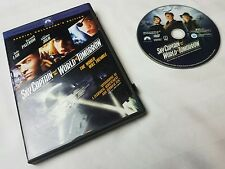 Sky Captain and the World of Tomorrow (DVD, 2005, Widescreen) free shipping