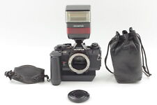 [EXC5] OLYMPUS OM-4Ti DATA back Body w/ Winder 2 + F280 + Pouch from JPN C045