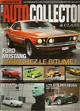 AUTO COLLECTOR 6 FORD MUSTANG CITROEN MEHARI RENAULT RODEO MATRA 530 LOTUS SEVEN