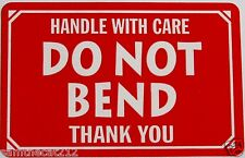 100 2x3 DO NOT BEND Handle With Care Labe Sticker