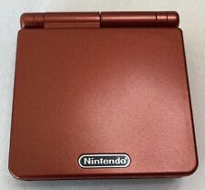 Game Boy Advance SP AGS 001 Flame Red! Excellent Condition!