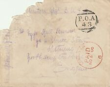 1900 South Africa Queen Victoria cover from Boer War