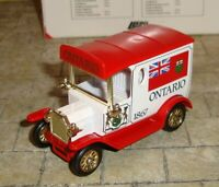LLEDO -  DAYS GONE -  1920 MODEL T FORD VAN - ONTARIO 1867  - CANADIAN - BOXED