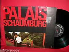 PALAIS SCHAUMBURG same LP 1981 GERMANY MINT- Original First Pressing + Inner