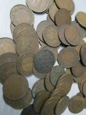 Lot of 75 Canada Large One George Cent Canadian Penny Coin