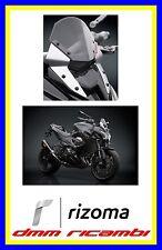Cupolino sportivo RIZOMA KAWASAKI Z800 13>15 Grigio Alluminio
