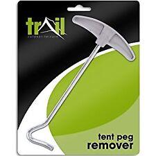 Trail Metal Tent Peg Remover - Metallic