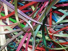 10 x 1 metre Berisfords 3mm wide Satin Ribbon Off Cuts Bundle