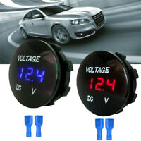 Waterproof Car Boat Motorcycle LED Panel Digital Voltage Meter Voltmeter W PQ