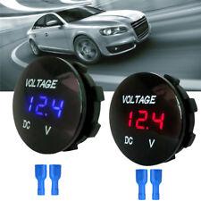 Waterproof Car Boat Motorcycle LED Panel Digital Voltage Meter Display'Voltmeter