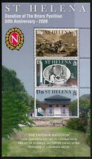 ST HELENA 2009 neuf sans charnière Briars Pavillion Napoléon 3 V M/S Architecture timbres