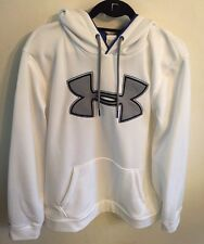 Under armour Men's Storm Hoodie Size Xl White Gray Blue