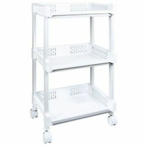 STORAGE TROLLEY ON CASTORS 3 AND 4 TIERS