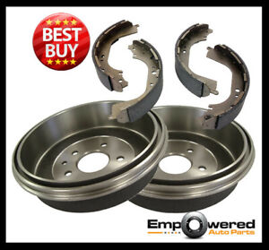 RDA REAR BRAKE DRUMS + SHOES for Hyundai GETZ *With ABS* 2002-2010 RDA6105