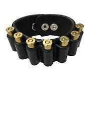 Bullet Bracelet Band Holder Black Universal 38/357 Mag Right/Left Hand Wrist
