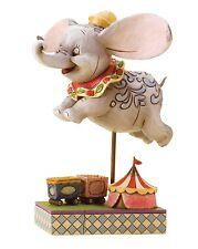 Disney Traditions Faith In Flight Flying Dumbo Resin Figurine Statue Gift Box