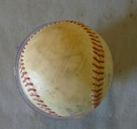 Original MLB Montreal Expos Rusty Staub Signed Official Rawlings Baseball