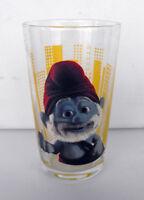 RARE SMURF SCHTROUMPF Big Smurf Movie Glass 2011 MINT IN BOX