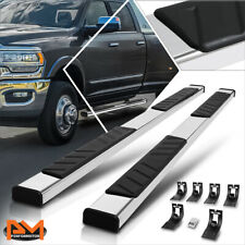 For 09 20 Ram 1500 3500 Truck Crew Cab 5 Pad Side Step Nerf Bar Running Board Fits Dodge Ram 1500