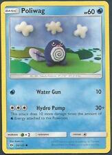 Pokemon Sun & Moon Card- #030-Poliwag