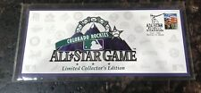 Mint Colorado Rockies All-Star game. Official cover envelope 1998