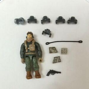 Mega Bloks Construx Call of Duty pilot loose figure DIY TOY