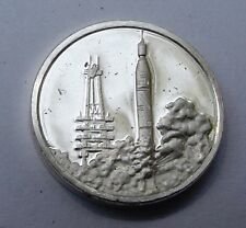 Franklin Mint Sterling Silver Mini-Ingot: 1958 America's First Satellite