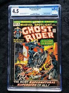 Marvel Spotlight #5. FIRST GHOST RIDER CGC 4.5.🔥🔥🔥